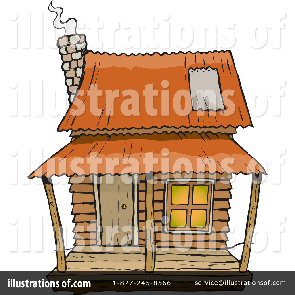 Cabin Clipart 65590 Illustration By Denn-Cabin Clipart 65590 Illustration By Dennis Holmes Designs-6