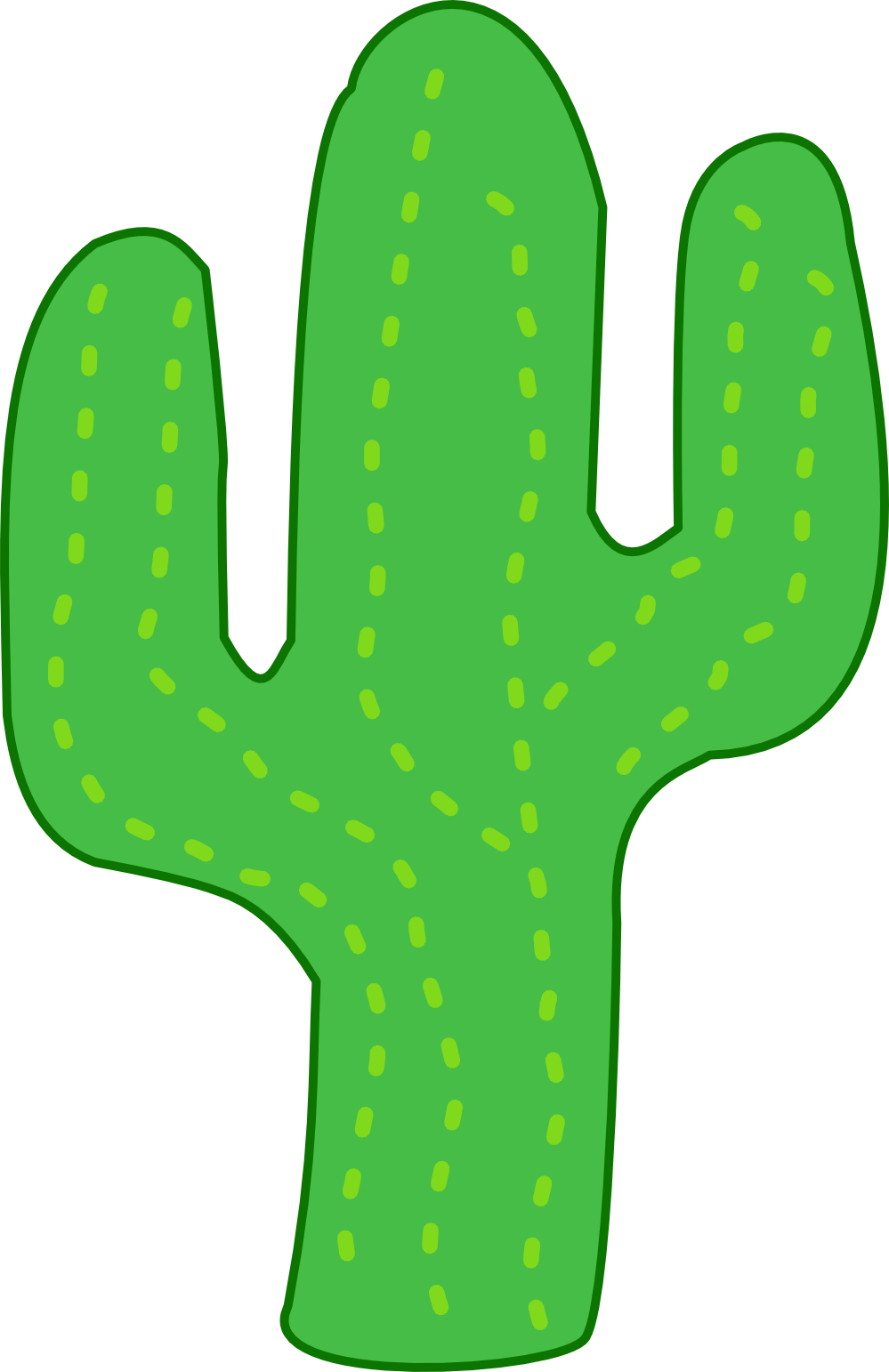 Free Cactus in the Desert Cli