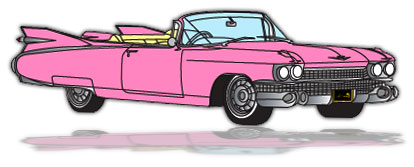 Car. Car Graphics. Cadillac.  - Cadillac Clipart
