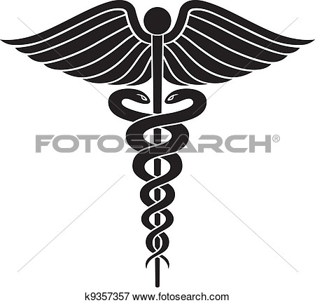 Caduceus Medical Symbol II