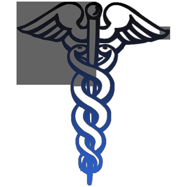 Caduceus Medical Symbol Outline Black Clipart Image Ipharmd Net