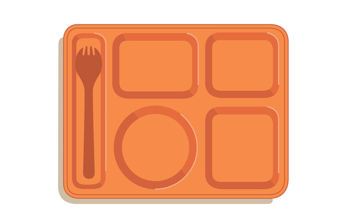 Lunch Tray Clipart