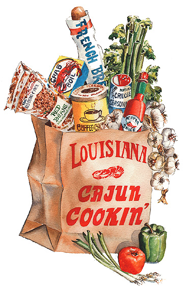 Cajun Christmas Clipart