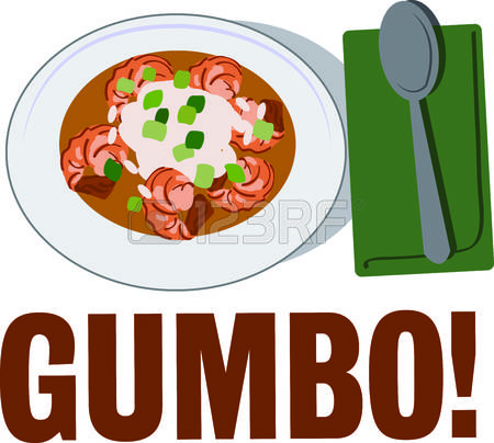 cajun: Use this gumbo for a cajun food lover.
