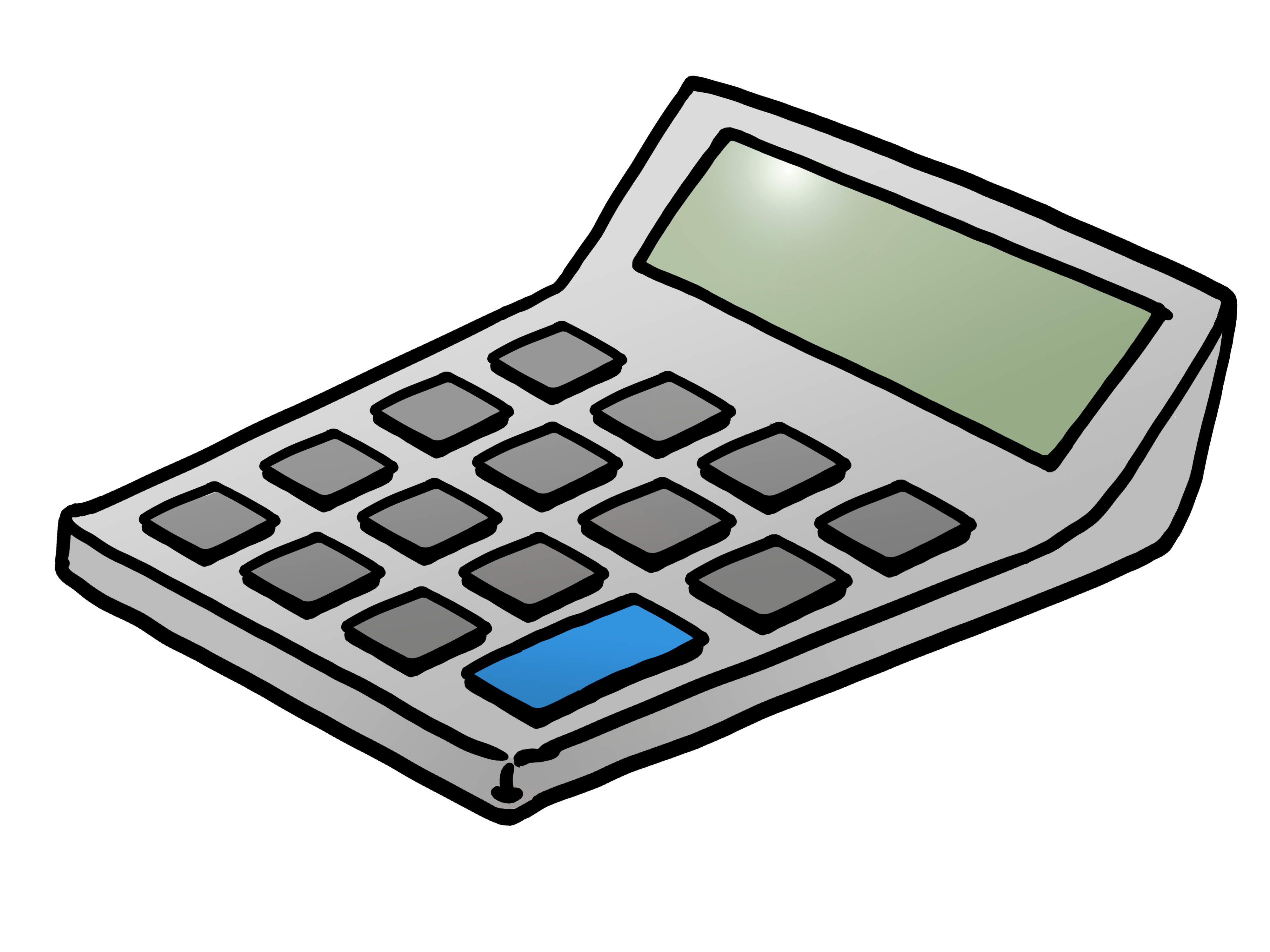 Calculator Clipart-calculator clipart-2