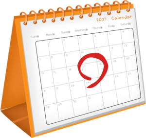 calendar clipart
