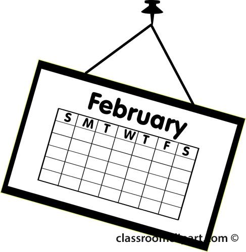 Calendar Clipart-calendar clipart-5