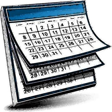 Calendar Clip Art 3 Calendar Clipart Fan-Calendar clip art 3 calendar clipart fans-4