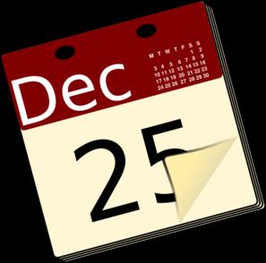 Calendar clip art free clipartbold 2