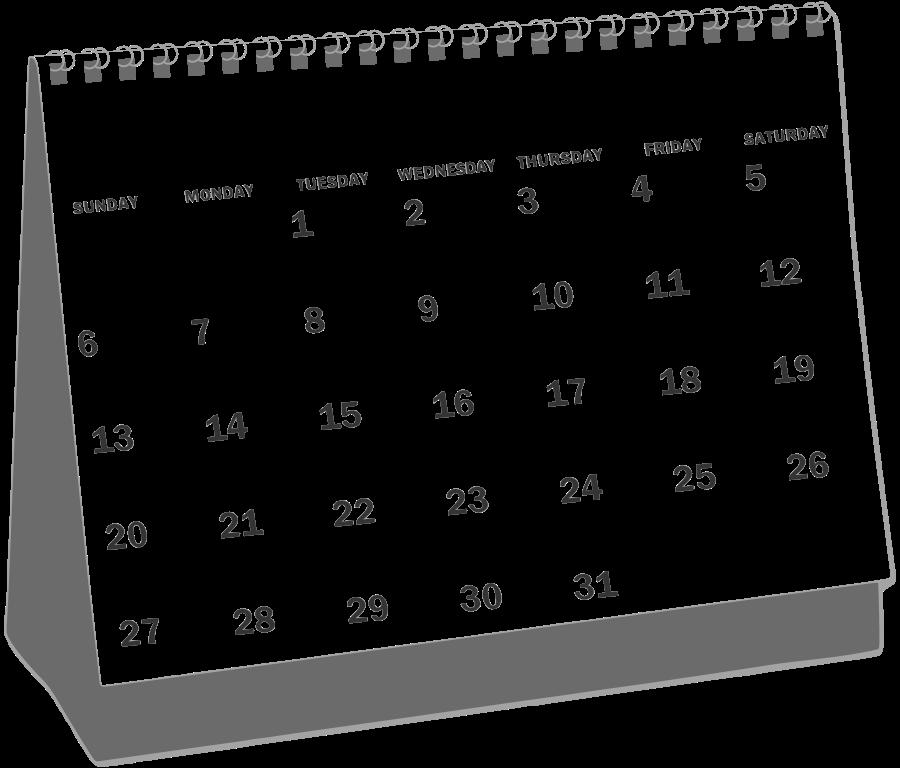 Calendar Clipart | Clipart .