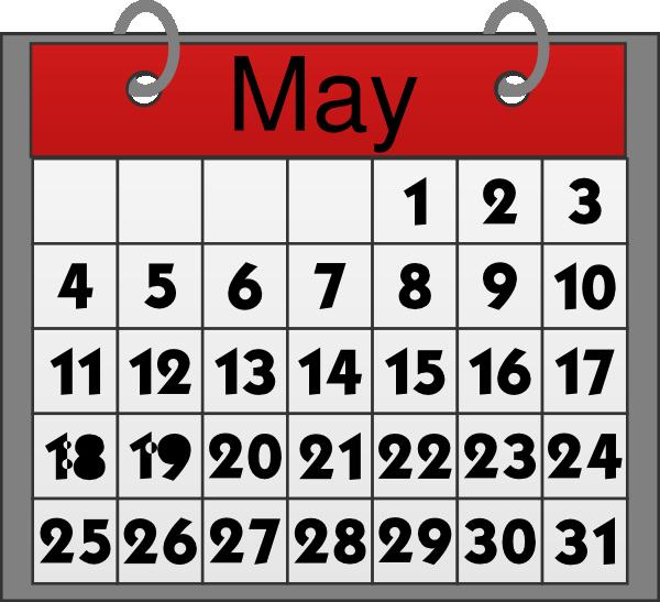 Calendar clipart clipartion com 2