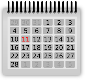 Calendar Clipart | Free .