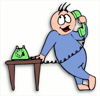 Phone Call Clip Art