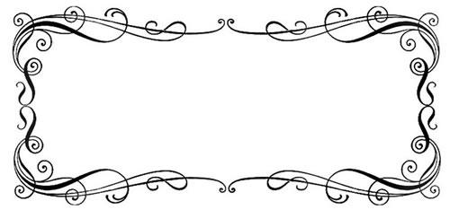 104 Rustic Border Clip Art