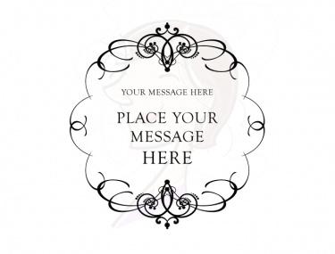 Calligraphy Wedding Invitation .