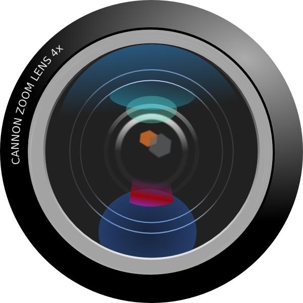 Camera Lens clip art