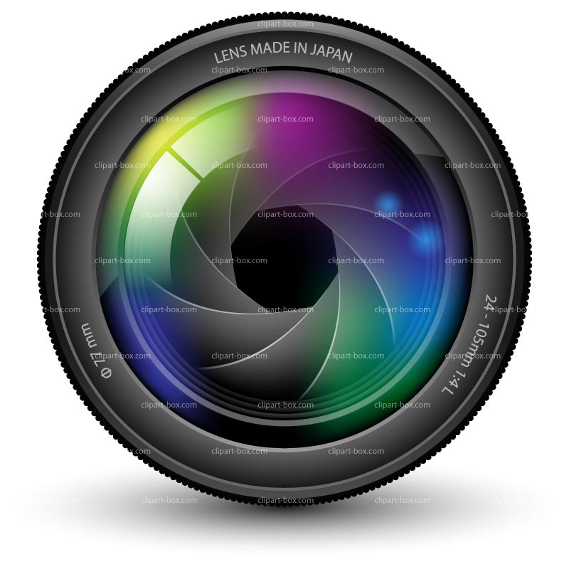 camera lens | CLIPART CAMERA LENSE | Royalty free vector design