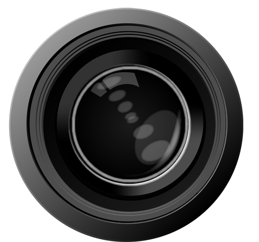 Camera Lens Clipart PNG Image