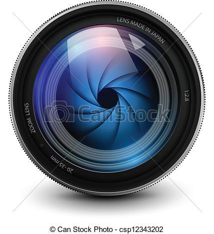 camera lens - csp12343202