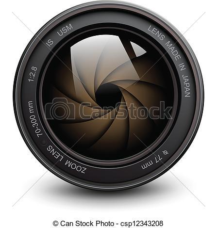 camera lens - csp12343208