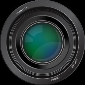 Camera Lens PNG Clipart