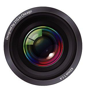 Cool camera lens lens