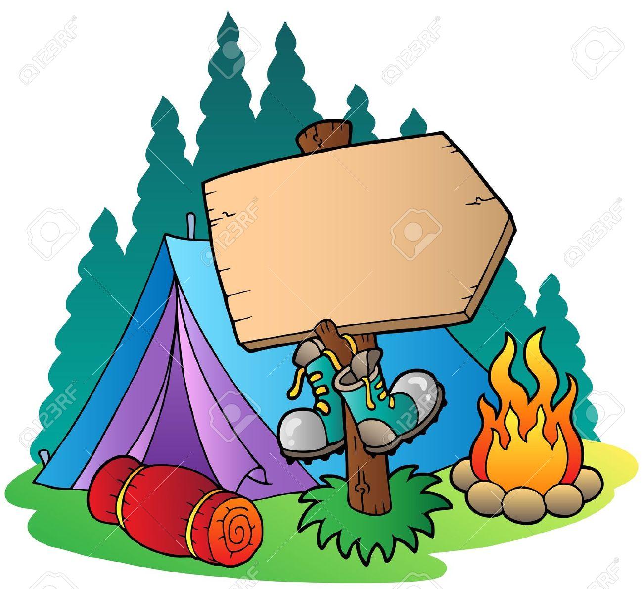 Camp Clipart-camp clipart-1