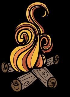 campfire clipart - Smores Clip Art