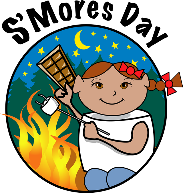 S Mores Clipart