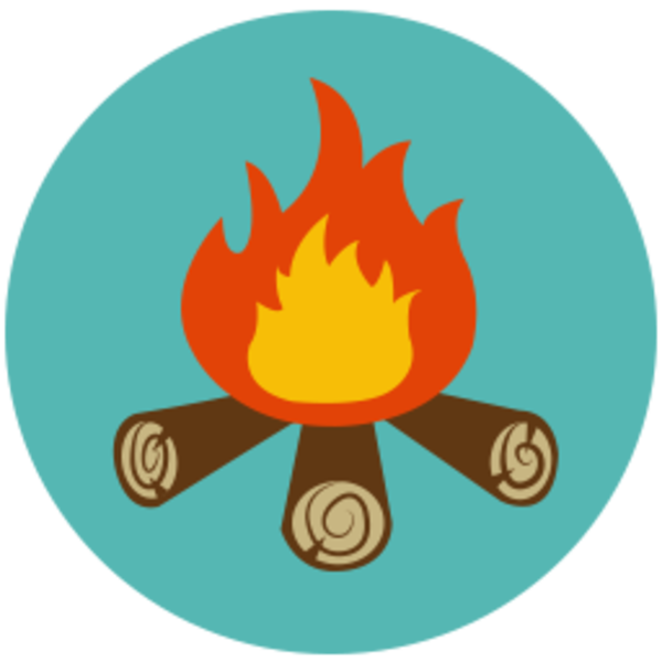 Campfire clipart camp fire .