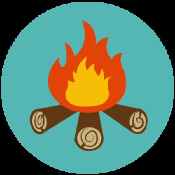 Campfire clipart camp fire .-Campfire clipart camp fire .-10