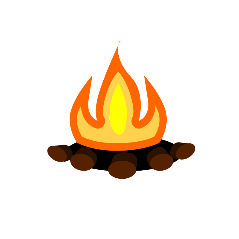 Campfire Clipart Camp Fire Image-Campfire clipart camp fire image-11