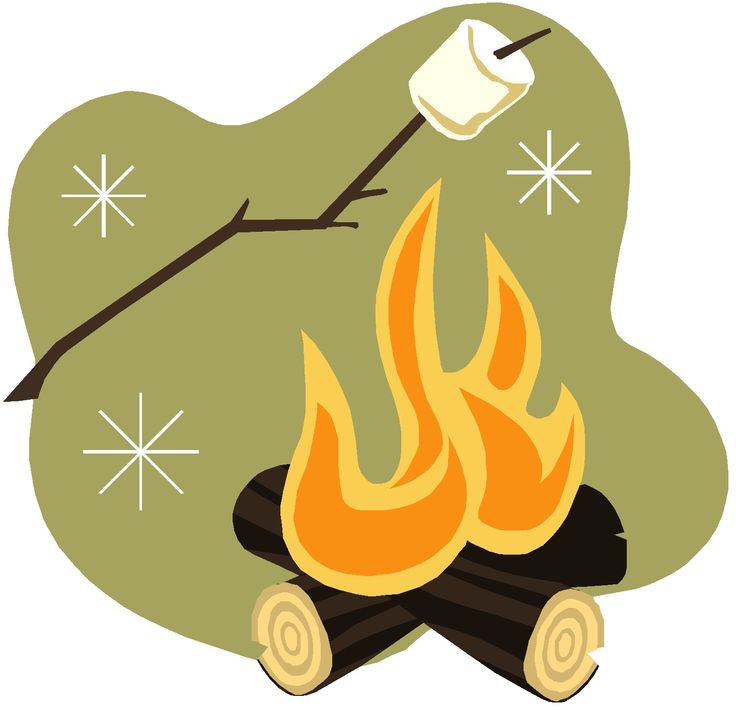 Campfire Illustration