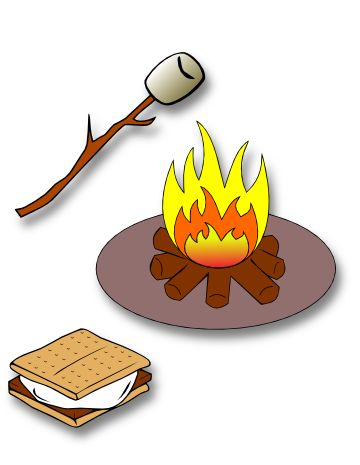 Campfire Su0026amp;Clipart-Campfire Su0026amp;Clipart-1
