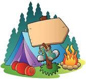 camping car; family camping; camping tent ...