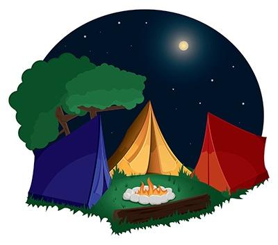Campsite Clipart