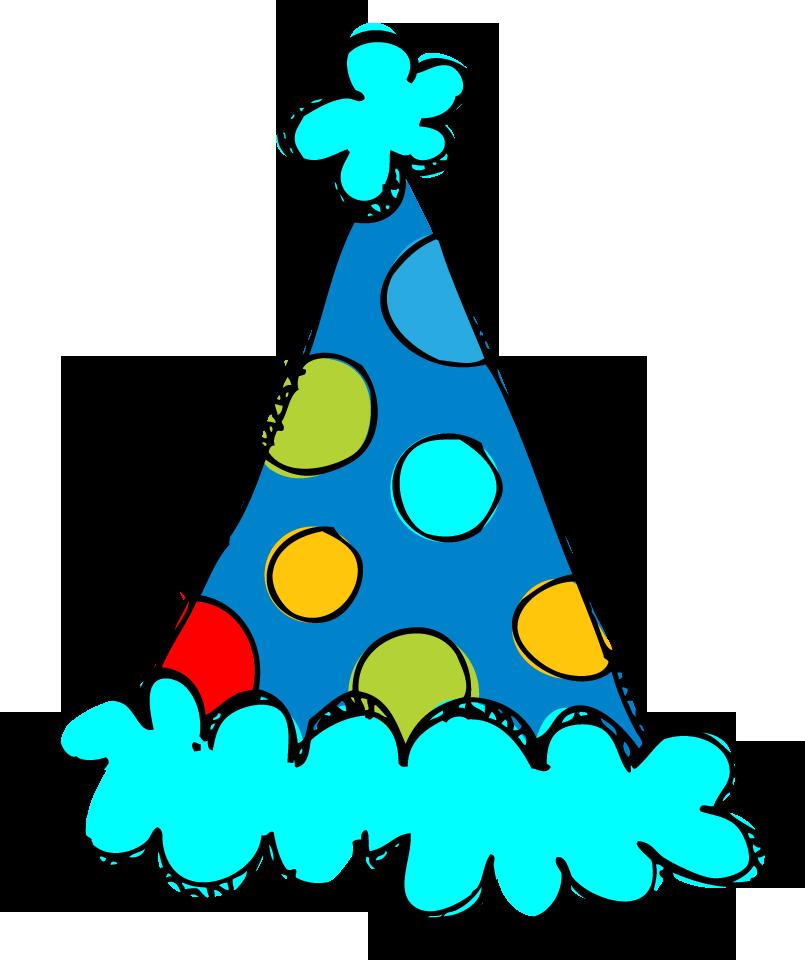 birthday hat clip art clear b