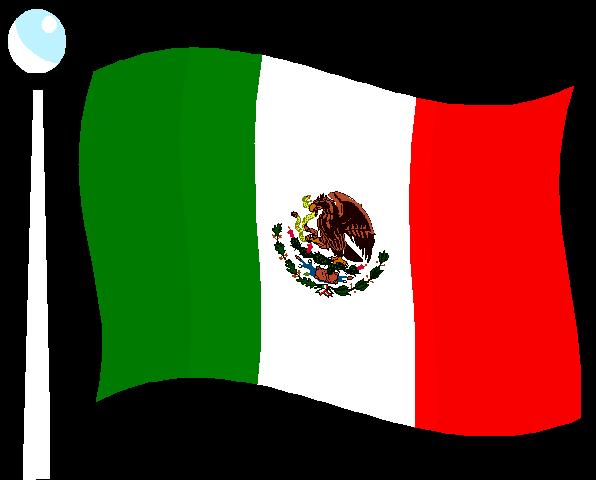 Mexico Flag Clip Art