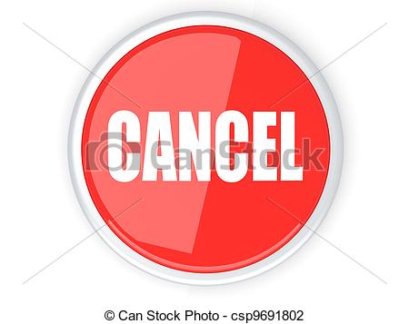 Cancel Button - csp9691802-Cancel Button - csp9691802-1