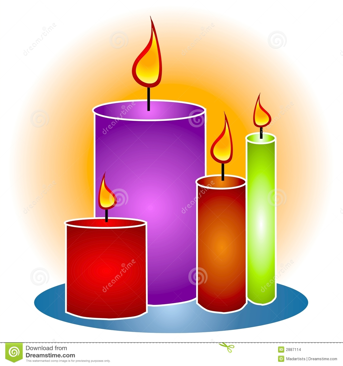 Candle Clip Art-Candle Clip Art-2