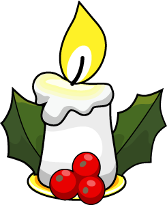 Candle clipart candle clip ar - Christmas Candle Clipart
