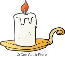 cartoon candle lamp - Candle Clipart