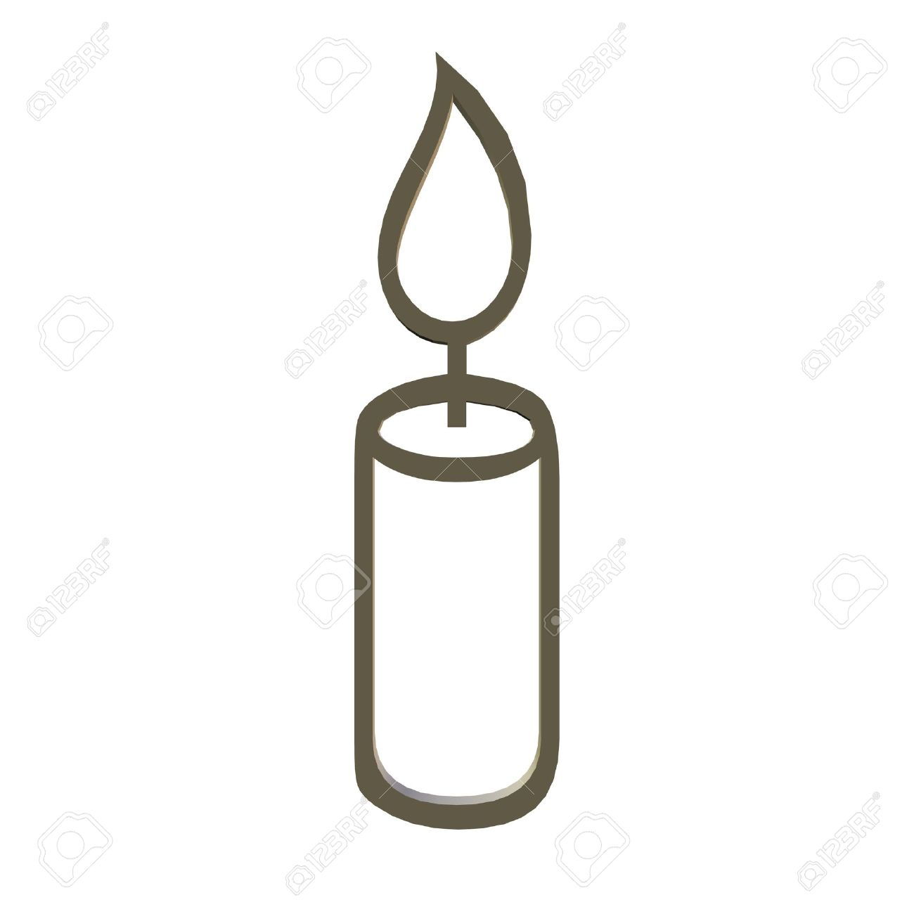 Clipart, Candle, Stock Photo - 1789655-clipart, candle, Stock Photo - 1789655-9