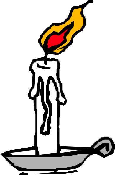Download this image as: - Candle Clipart