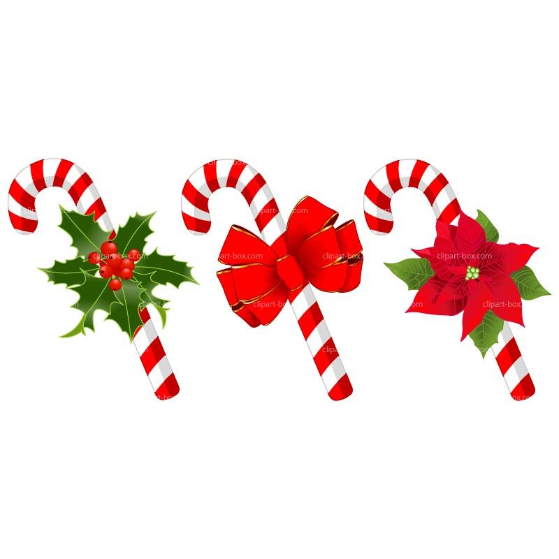 Candy cane christmas clip art .