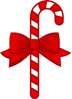 Candy cane christmas clip art
