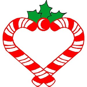 Candy Cane Clipart and .
