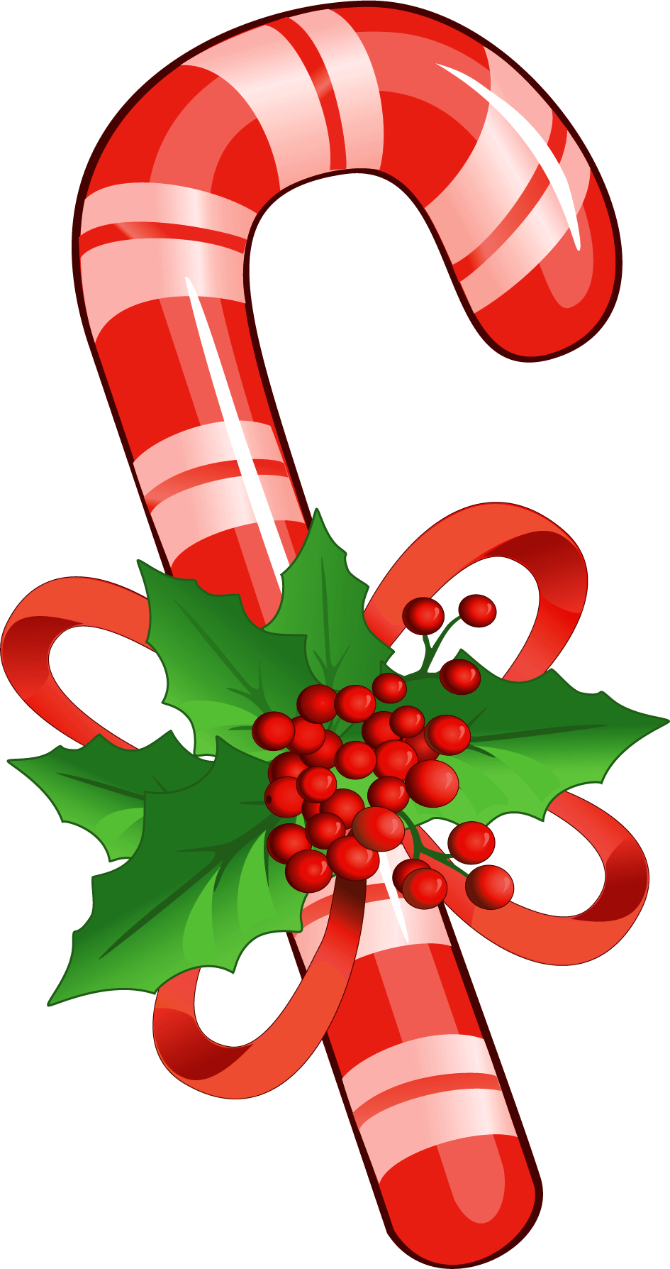 Candy cane clipart