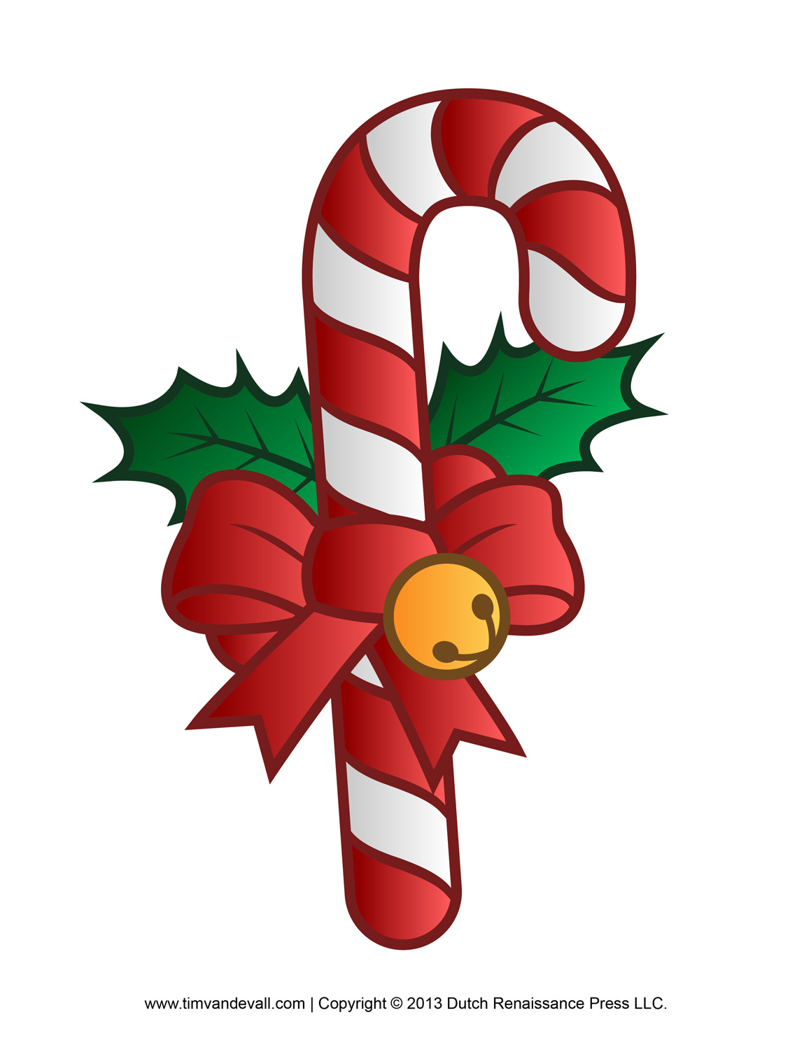 Candy Cane Clipart Set 1