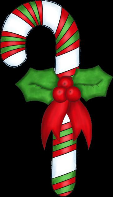 Candy Cane Decoration Clip Art Image Dec-Candy Cane Decoration Clip Art Image Decorated Christmas Candy Cane-3